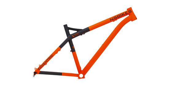 NS Bikes Eccentric 650B Rahmen flue orange